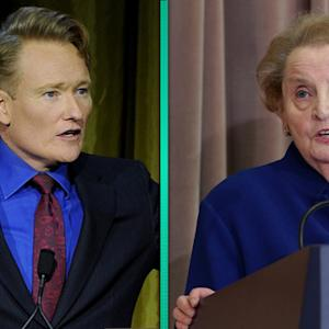 Madeleine Albright Burns Conan O'Brien on Twitter - 11 Reactions He Might Have Had To Her Comebacks