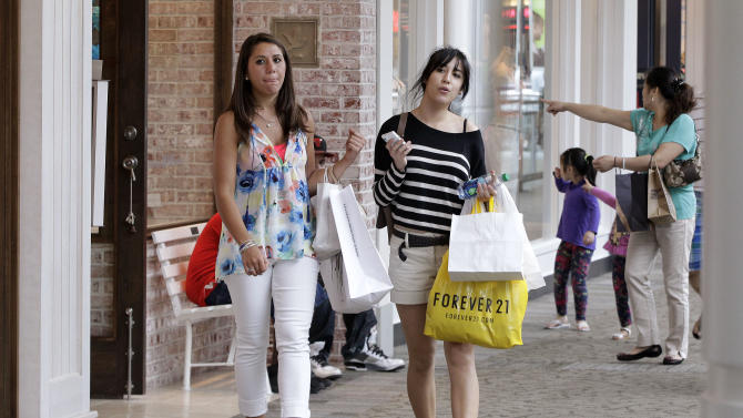 Will shoppers' increased spending in May last?