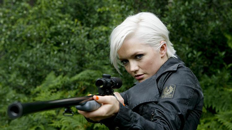 Hannah Spearritt as Abby in Primeval.