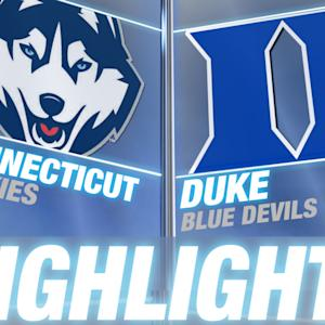 Connecticut vs Duke | 2014-15 ACC Men's Basketball Highlights