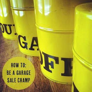 7 Tips from a Garage Sale Pro