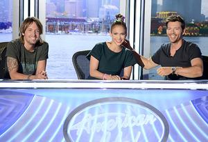Keith Urban, Jennifer Lopez and Harry Connick Jr. | Photo Credits: Michael Becker / FOX