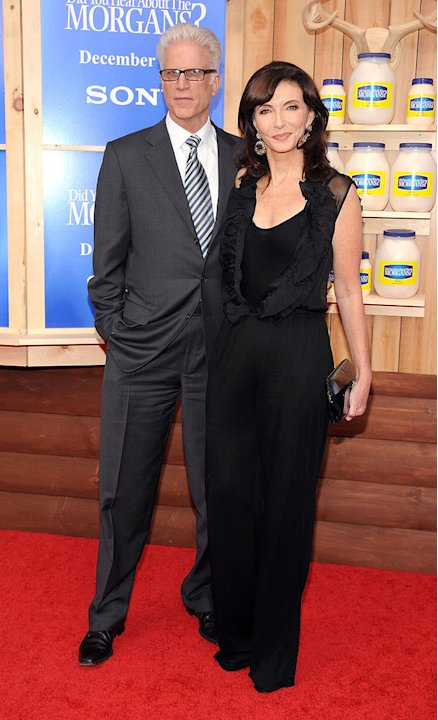 Did You Hear About the Morgans NY Premiere 2009 Ted Danson Mary Steenburgen
