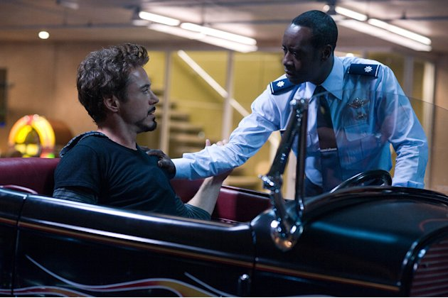 Iron Man 2 Stills Paramount Pictures 2010 Robert Downey Jr. Don Cheadle