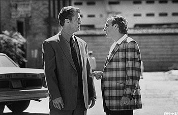 Mel Gibson and David Paymer in Payback