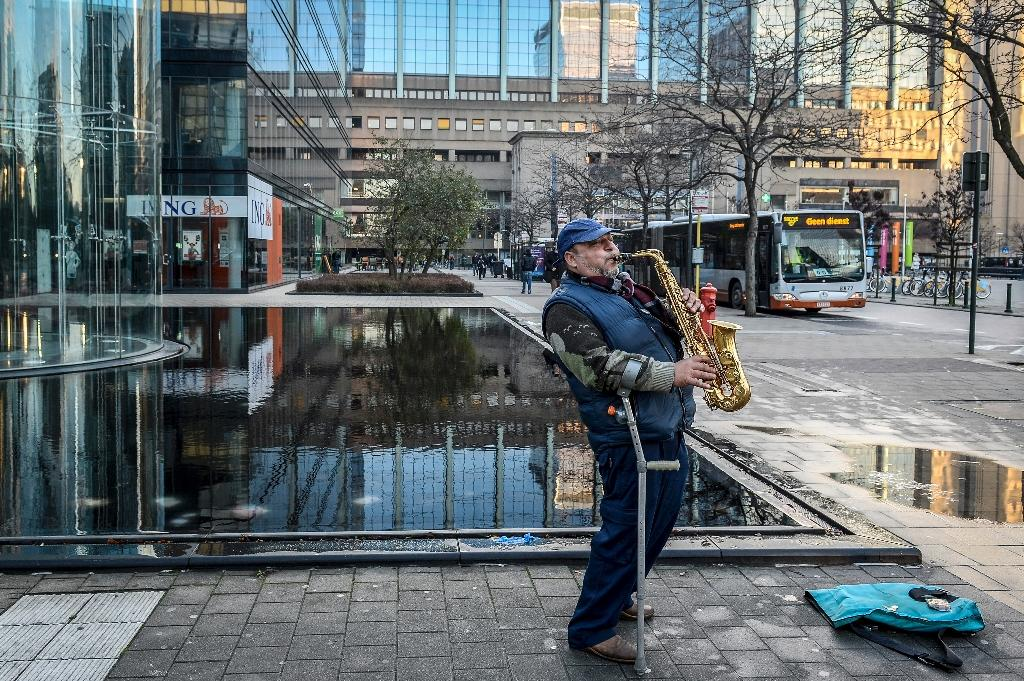 Under-siege Brussels waits for lockdown lift