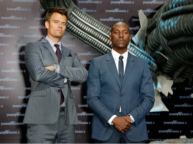 Transformers Dark of the Moon Premiere 2011 Josh Duhamel Tyrese Gibson