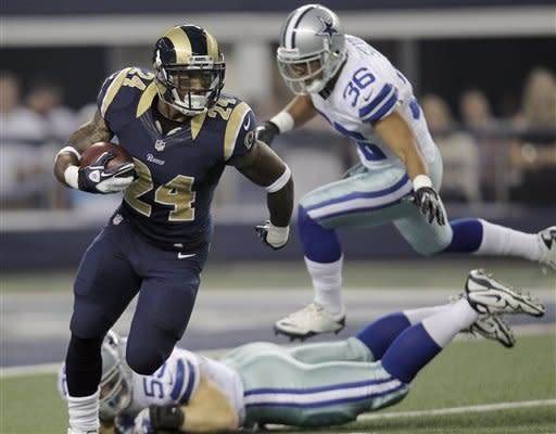 Romo shines in short time, Cowboys beat Rams 20-19