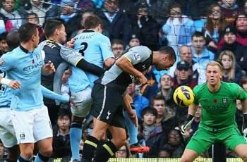 Manchester City winner hard to take for Tottenham, admits Caulker