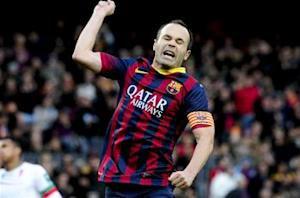 Iniesta: Barcelona has to take advantage of our form