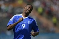 The skipper of Russian Premier League side Anzhi Makhachkala and Cameroon star striker Samuel Eto&#39;o, pictured in May 2012, said Monday he was pleased with his team&#39;s winning start into the league&#39;s new season