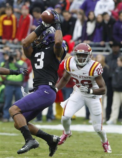 Iowa State ends No. 15 TCU's 12-game streak, 37-23