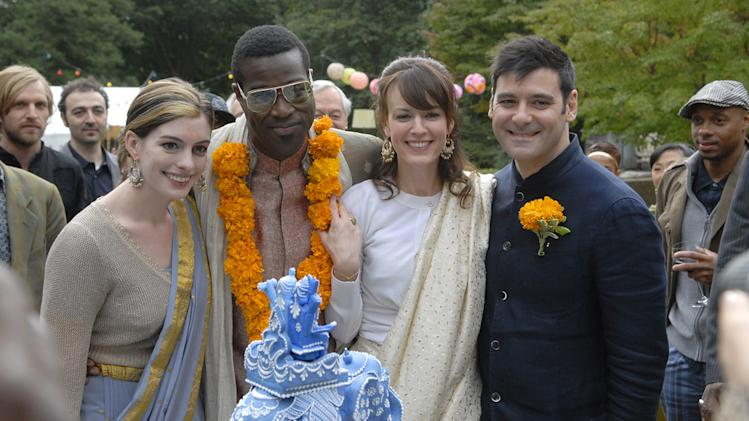 Anne Hathaway Tunde Adebimpe Rosemarie DeWitt Mather Zickel Rachel Getting Married Production Stills Sony Pictures Classics 2008