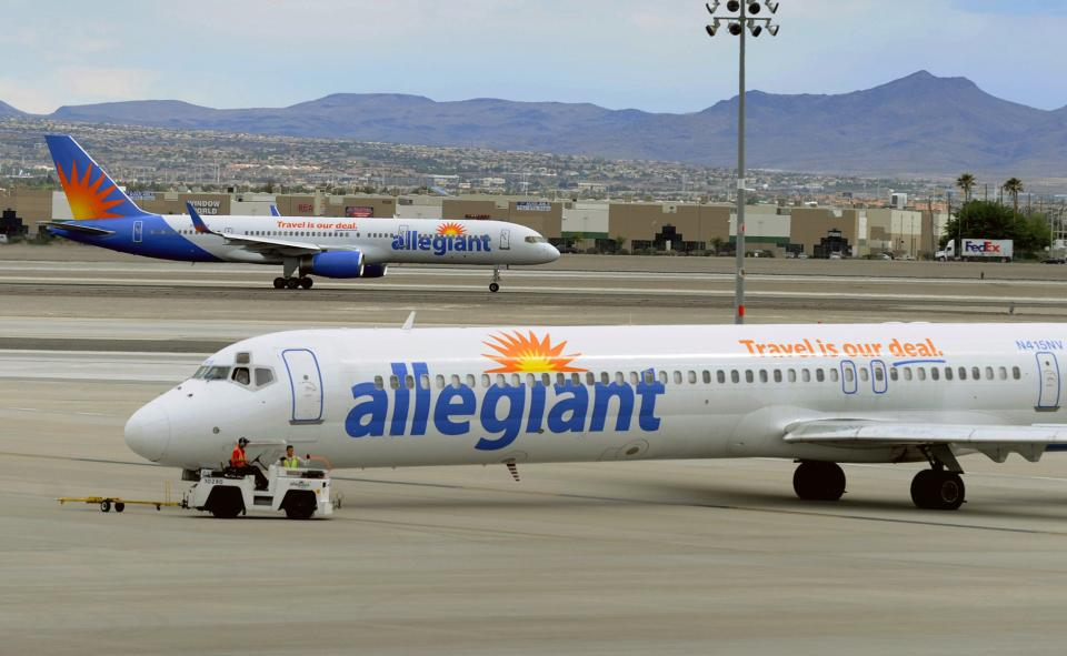Allegiant: No cancellations due to MD-80 work