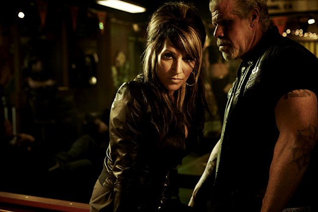 "Katey Sagal as Gemma Teller in ""Sons Of Anarchy."""