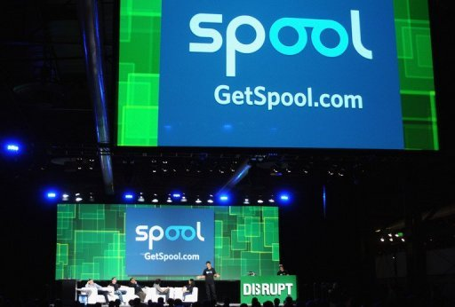 <p>The start-up Spool presents at Day 1 of TechCrunch Disrupt SF held in 2011 in San Francisco, California. Facebook added more mobile technology to its arsenal with the acquisition of Spool, a startup specializing in bookmarking and sharing content on smartphones or tablets.</p>