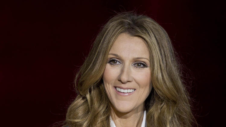 "FILE - In this Tuesday March 15, 2011 file photo, Celine Dion answers questions during a press conference after her opening night performance at Caesar's Palace in Las Vegas. Mariah Carey, Usher and Celine Dion are among the heady names being tossed around as ""American Idol"" replacement judges after the exits of judges Steven Tyler and Jennifer Lopez. (AP Photo/Julie Jacobson, File)"