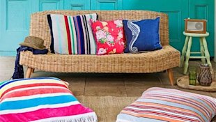 Beach Towel Cushions