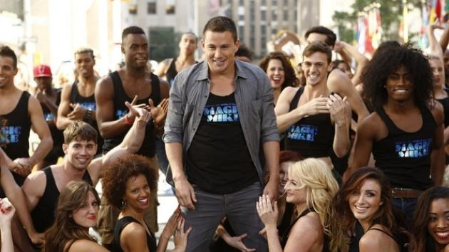 Channing Tatum appears on the 'Today' show on June 27, 2012 -- NBC