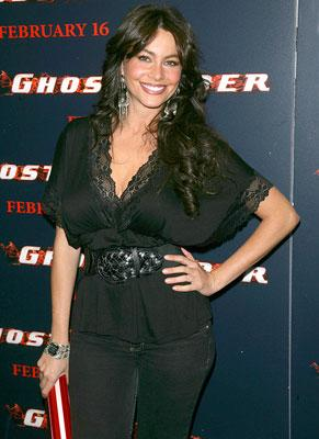 Sofia Vergara at the New York premiere of Columbia Pictures' Ghost Rider