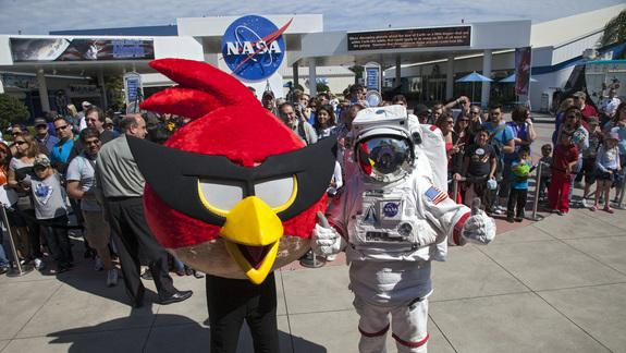 Angry Birds Invade NASA's Kennedy Space Center