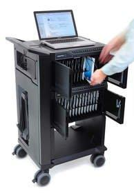 Improved Strength and Durability in a Compact, Mobile Format Hallmarks of Ergotron's New Tablet Management Products