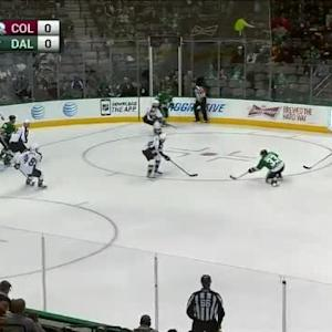 Semyon Varlamov Save on Alex Goligoski (03:17/1st)
