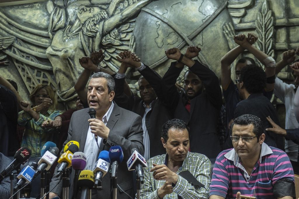 Egypt regime 'at war' with the press: media union