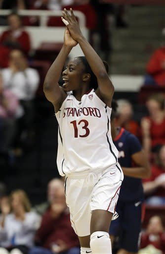 Ogwumike, No. 4 Stanford women rout Arizona 73-43