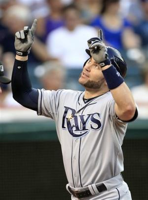 Scott snaps hitless streak as Rays beat Indians