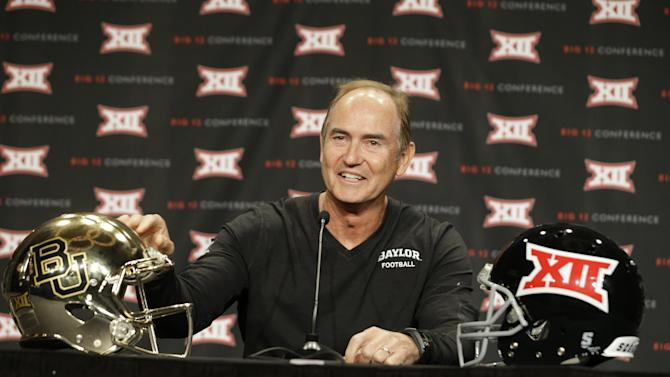Briles unfazed by Fisher talk of title games