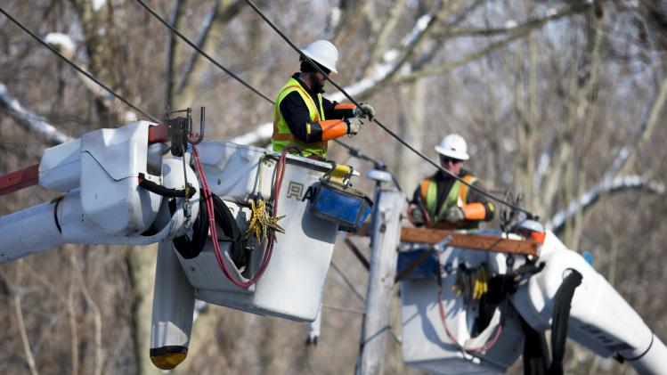 22,000 in Pa. remain without power after ice storm