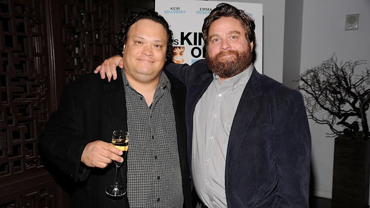 Its kind of a funny story NYC premiere 2010 Adrian Martinez Zach Galifanakis