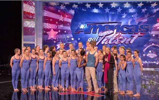 "Silhouettes (interpretative dance) is one of the Top 48 acts on Season 6 of ""America's Got Talent."""