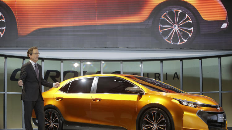 Toyota hints at racier new Corolla design