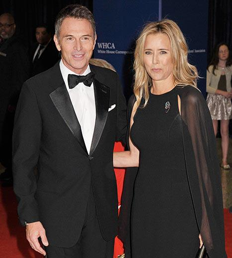 Tea Leoni Brings Costar Boyfriend Tim Daly as Her White House Correspondents' Dinner Date: Pic