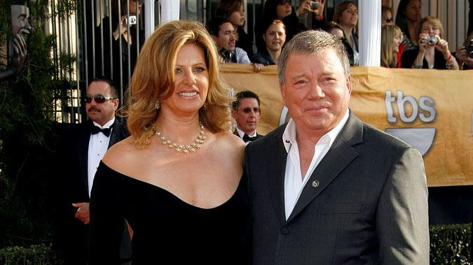 William Shatner and guest arrives to the TNT/TBS broadcast of the 15th Annual Screen Actors Guild Awards at the Shrine Auditorium on January 25, 2009 in Los Angeles, California.