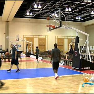 Basketball Enthusiasts Train Like The Pros At Wade's Camp