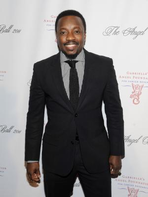 """FILE - In this Oct. 17, 2011 file photo, Anthony Hamilton attends the Gabrielle's Angel Foundation for Cancer Research """"Angel Ball"""" honors gala at Cipriani's Wall St. in New York.  Hamilton released his fifth album in December 2011, it did not receive the same amount of attention compared to his previous efforts.  So Hamilton was extremely surprised when he got a call from his manager, letting the 41-year-old singer know that he had been nominated for two Grammy Awards, including best R&B album for """"Back to Love.""""  (AP Photo/Evan Agostini)"""