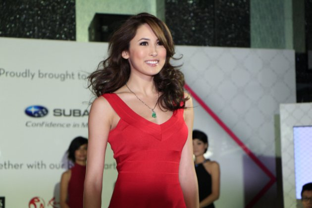 Aspiring actress Kate Ma is proving to be a strong competitor. (Yahoo! photo/ Deborah Choo)