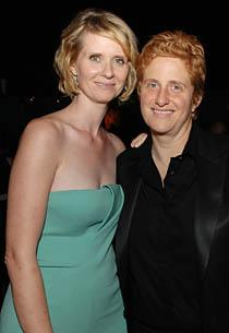 Cynthia Nixon, Christine Mariononi  | Photo Credits: Stephen Shugerman/Getty Images