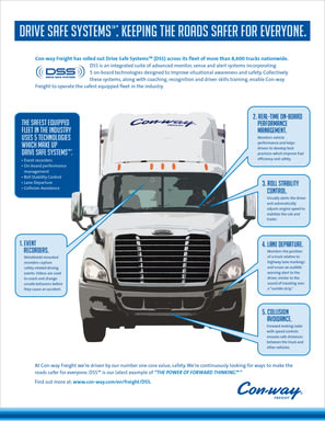 Drive Safe Systems: How Con-way Freight is keeping the roads safer