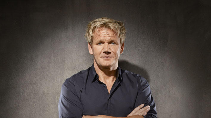 "Chef Gordon Ramsay on ""Kitchen Nightmares."""