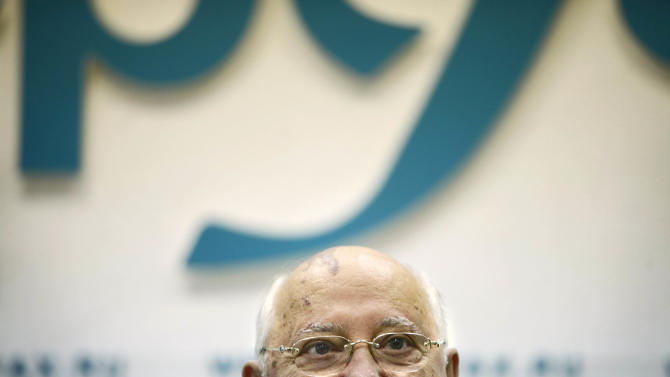 Former Soviet President Mikhail Gorbachev listens to a question during his news conference ahead of the 20th anniversary of Aug. 19, 1991, hardline coup that briefly ousted him and precipitated the collapse of the Soviet Union, in Moscow, Russia, Wednesday, Aug. 17, 2011. Gorbachev criticized the government for taking Russia backward and said that the nation needs free elections and a fresh leadership. (AP Photo/Alexander Zemlianichenko)