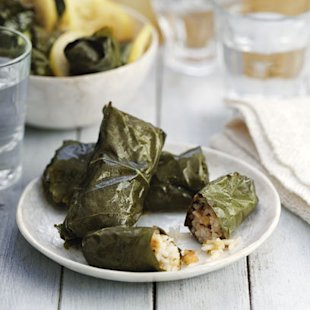 Stuffed Vine Leaves: Recipe