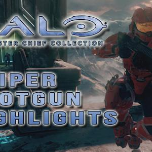Sniper and Shotgun Gameplay - Halo: The Master Chief Collection
