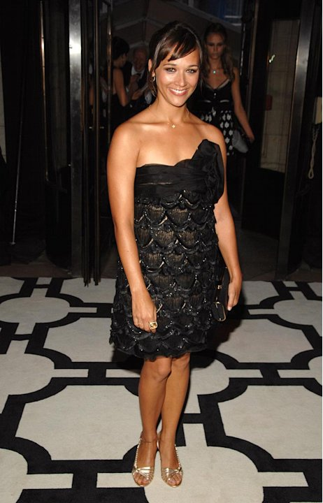 Rashida Jones at the 2007 CFDA Fashion Awards.