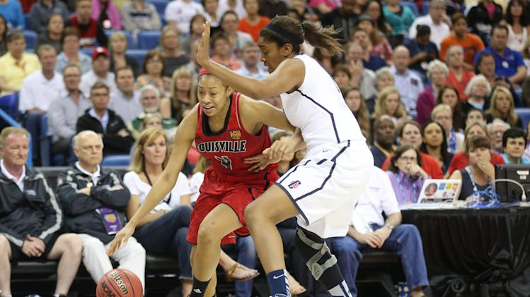 NCAA Womens Basketball: NCAA Tournament-Louisville vs Connecticut
