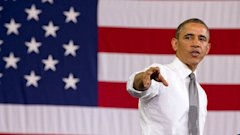 ap obama baltimore 01 mi 130517 wblog Obama Pivots to Jobs Tour at End of Scandal Filled Week