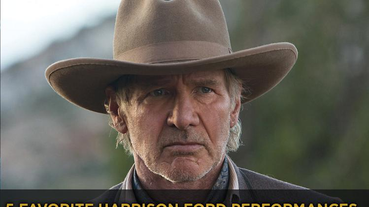 5 Favorite Harrison Ford Performances title card